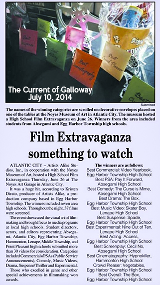 Film Extravaganza at Noyes Art Garage